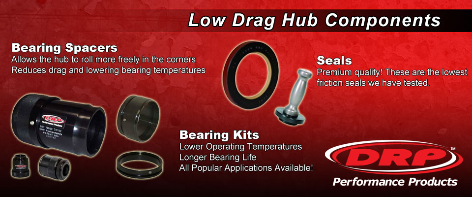 DRP Low Drag Hub Components